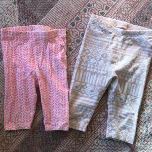 Other - Toddler girl Capri legging bundle